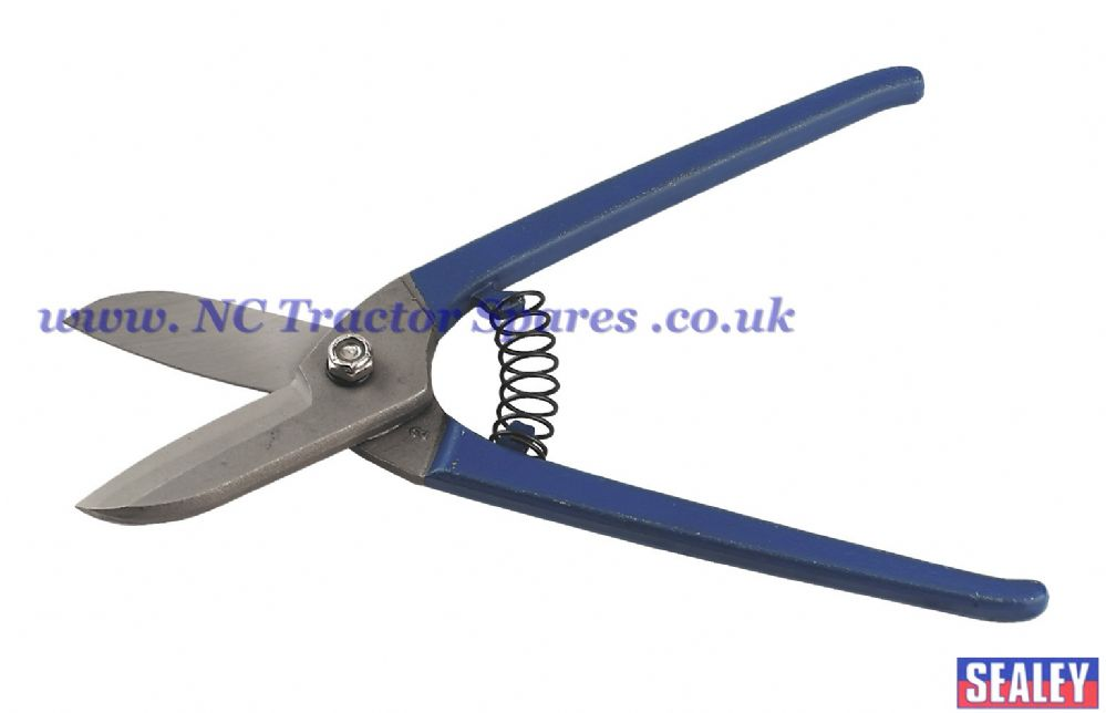 Tinman's Shears 250mm Spring Loaded